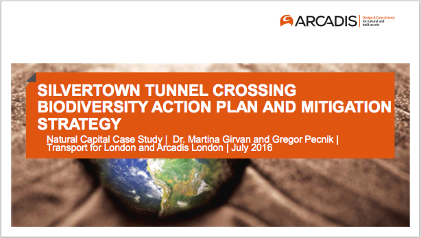 Silvertown Tunnel Crossing Biodiversity Action Plan and Mitigation Strategy