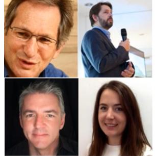 The webinar presenters